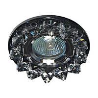 Встраиваемый светильник  CD2542 прозрачный серый 18930 (4572)