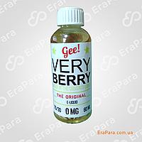 Gee! Very Berry  (0) Жидкость для электронных сигарет