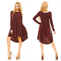 Ж163 Платье ассиметричное, фото 3