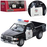 """Машина металл KINSMART """"Полиция Dodge Ram"""" (KT5018WP)"""