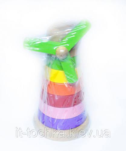 Пирамидка ветряная мельница Д358ук-t