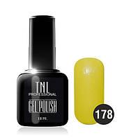 Гель-лак TNL № 178 карамельно-желтый 10 мл.