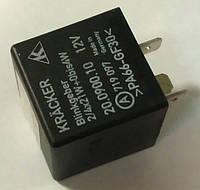 Реле указателей поворотов (2/4 X 21W) 3-х контактное WEHRLE 1226932 1226934 1226935 1226902 90055543 90057384 9285485 9148292 OPEL Astra-F Ascona-C