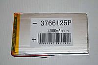 Универсальный аккумулятор (АКБ, батарея) для китайских планшетов 3.7V 4000mAh (3.7*66*125mm)