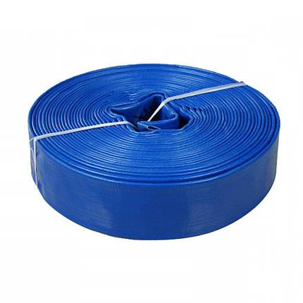 """Шланг для дренажно-фекального насоса Euroaqua ПВХ Ø 2"""" (50 мм) 50 метров Синий, фото 2"""