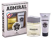 Набор мужской ( т/в 100 мл +гель для душа 100 мл) Admiral наб муж Lotus Valley