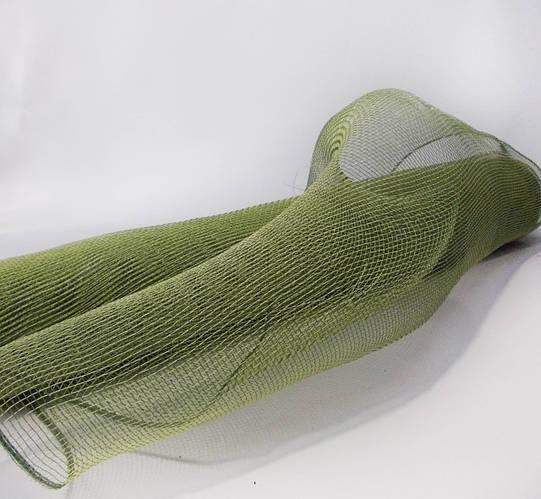 Сетка флористическая зеленая