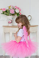 Юбка-пачка, юбка-американка, юбка-туту из фатина. Розовая.