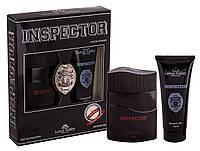 Набор мужской ( т/в 100 мл +гель для душа 100 мл) Inspector наб муж Lotus Valley