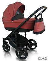 Детская коляска универсальная 2 в 1 D`Angela Bexa, красный