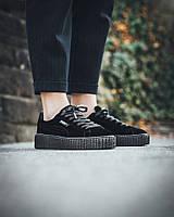 Женские кроссовки Puma Fenty By Rihanna Velvet black