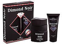 Набор мужской ( т/в 100 мл +гель для душа 100 мл) Dimond Noir наб муж Lotus Valley