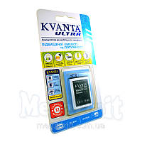 Усиленный аккумулятор KVANTA. Samsung X200 (D520, E1100) 890мАч