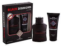 Набор мужской ( т/в 100 мл +гель для душа 100 мл) Black Diamond наб муж Lotus Valley