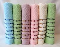 Качественное красивое махровое полотенце. Размер: 1,4 x 0,7