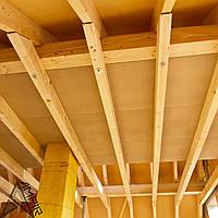 Расчет конструкций деревянного перекрытия