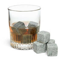 Камни охлаждающие для виски Whisky Stones, 9шт