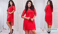 Женское Платье 7238  (50-60)