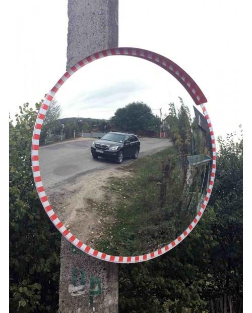 Дорожное сферическое зеркало диаметром 800 мм