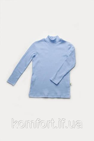 Гольф для мальчика светло-голубой, фото 2