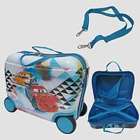 Детский чемодан на 4 колесах Тачки 7548-CR
