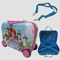 Детский чемодан на 4 колесах София 7522-cf