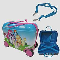 Детский чемодан на 4 колесах LITTLE PONY 40*28*19 7548-PI