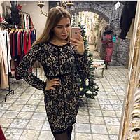 Женское кружевное платье Зарина