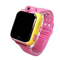 Smart baby watch Q200 Оригинал! Розовый