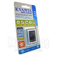Усиленный аккумулятор KVANTA. Samsung S3650 ( B3410 ) 1000мАч, фото 1