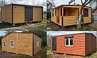 Деревянные утеплённые домики. Доставка по Украине. Звоните!
