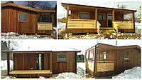 Деревянные дачные дома. Доставка по Украине. Звоните!, фото 1