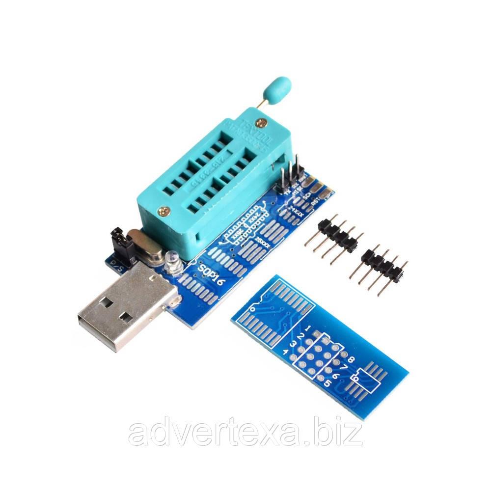 USB программатор для SPI FLASH Bios EEPROM для 24 и 25 серии на чипе CH341A