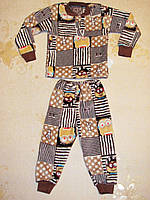 "Пижама махра ""Миньоны"" 26 размер"