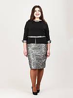 Платье женское батал 937 Платья больших размеров , фото 1