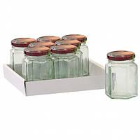 Набор шестиугольных баночек Axentia 110 ml
