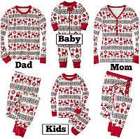 Пижамы для всей семьи Пижама для мамы, папы и детей, фото 1
