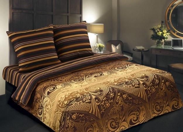 Постельное белье Арабика поплин ТМ Царский дом  (Двуспальный)