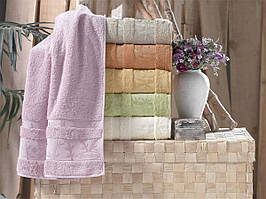 Бамбуковые полотенца Pupilla 50x90 (6-шт) №Elit-New