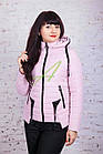 Брендовая женская куртка от производителя на весну 2018 - (модель кт-89), фото 4