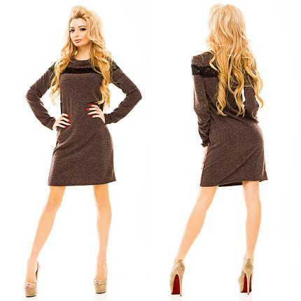 Ж165 Платье ангоровое, фото 2