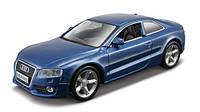 Игрушечные машинки и техника «Bburago» (18-43008) Audi A5, 1:32 (синий металлик)