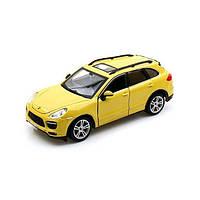 Игрушечные машинки и техника «Bburago» (18-21056) Porsche Cayenne Turbo, 1:24 (желтый)