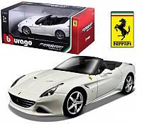 Игрушечные машинки и техника «Bburago» (18-26002) Ferrari California T, 1:24 (серый металлик)
