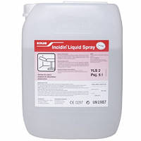 Средство для дезинфекции поверхностей «Incidin Liquid Spray», 5 литров