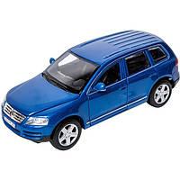 Игрушечные машинки и техника «Bburago» (18-22015) Volkswagen Touareg, 1:24 (синий металлик)