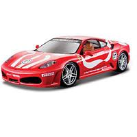 Игрушечные машинки и техника «Bburago» (18-26009) Ferrari F430 Fiorano, 1:24 (красный)
