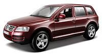 Игрушечные машинки и техника «Bburago» (18-22015) Volkswagen Touareg, 1:24 (красный металлик)