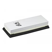 Двусторонний точильный камень 1000 3000 Taidea 6310 W для любых типов лезвий, корунд, 190х72х33 мм