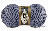 Alize Lanagold, джинс меланж №203